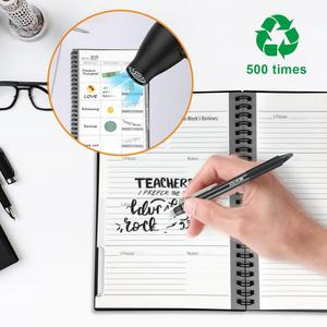 Image 4 - A5 size Erasable Notebook Reusable Smart Notebook Cloud Storage Flash Storage Reusable Planner Weekly Monthly Yearly & DAY DATE