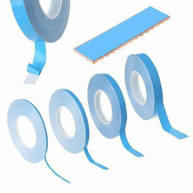 1PC 25m 8/10/12/20mm Width Double Sided Transfer Heat Tape Thermal Conductive Adhesive Tape For PCB CPU LED Strip Light Heatsink