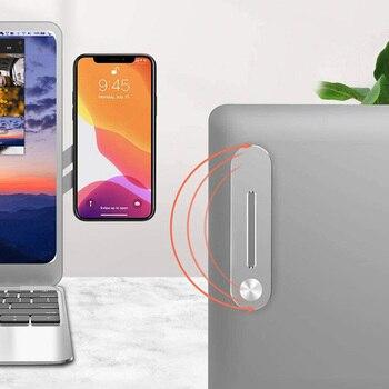 ALLOE-soporte lateral de teléfono para portátil, soporte de mesa portátil para teléfono...