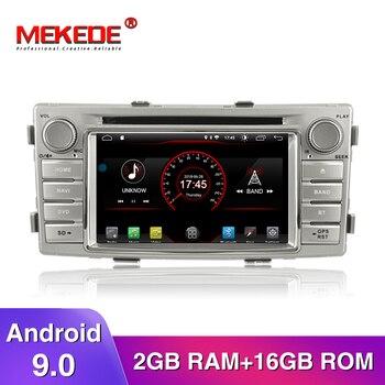 ¡Nuevo producto! reproductor de radio multimedia gps para coche android 9,0 para Toyota Hilux Fortuner 2012-2014 navegación multimedia estéreo para coche