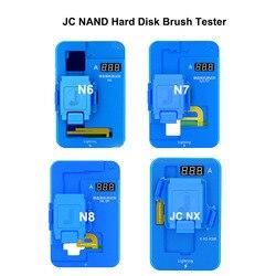 JC NAND Tester szczotki dysku twardego N7 N8 NX dla iPhone X/XS/XSMAX 7 7P 8 8P HDD testowanie szczotkowania