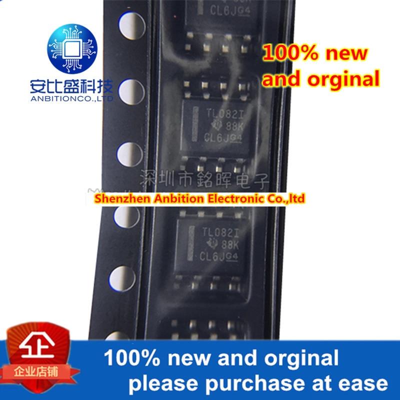10pcs 100% New And Orginal TL082IDR TL082I TL082 SOP8 In Stock