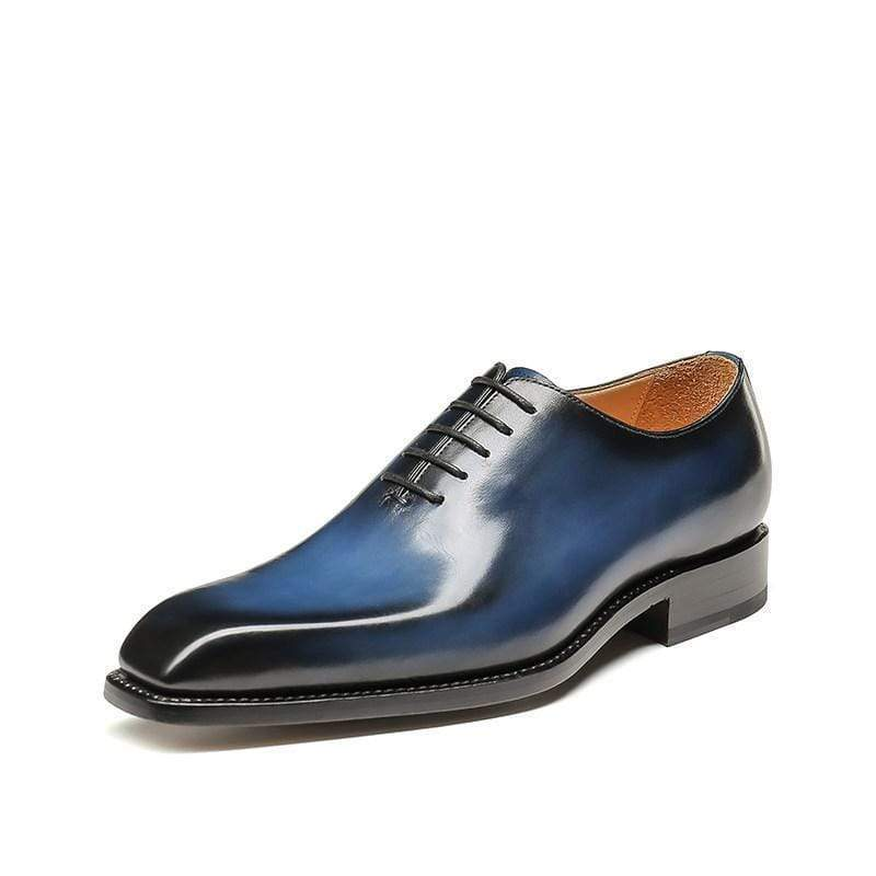 Handmade Luxury British Oxford Leather Shoes Dress Shoes Brogue Shoes Spring Ankle Boots Vintage Classic Male Casual  F218
