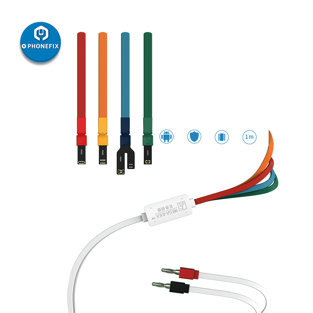 Qianli Mega-idea Power Cables for Huawei XiaoMi Samsung Andriod Phones Regulated DC Power Supply Current Boot Up Test Cable