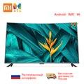 Телевизор Xiaomi Mi ТВ Android tv 4S 55 дюймов 4000R изогнутый 4K HDR экран ТВ wifi ультратонкий 2 ГБ + 8 Гб Dolby аудио многоязычный