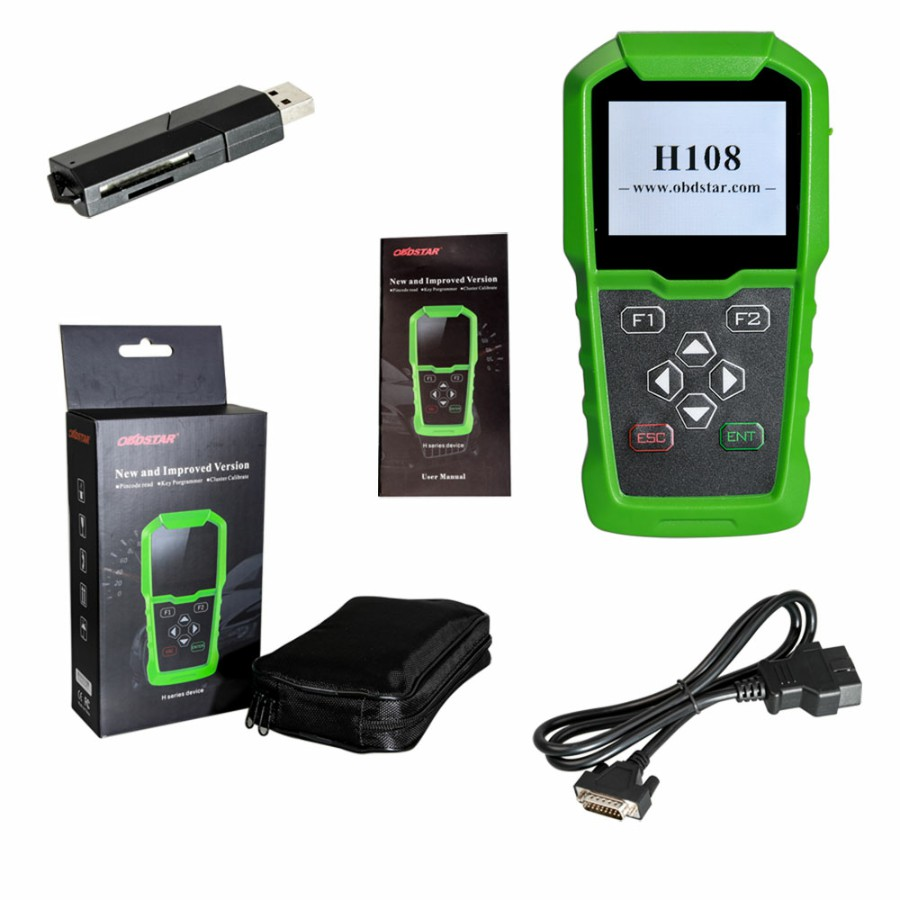 Image 3 - Original OBDSTAR H108 PSA Programmer Support All Key Lost/Pin Code Reading/Cluster Calibrate-in Auto Key Programmers from Automobiles & Motorcycles on
