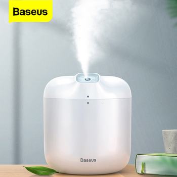 Baseus 600ML Ultrasonic Air Humidifier Aroma Essential Oil Diffuser for Home Office USB Fogger Mist Maker with LED Night Lamp