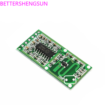 RCWL-0516 Microwave Radar Induction Switch Module Human Body Sensing Intelligent Detector - discount item  12% OFF Auto Replacement Parts