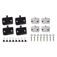 4 Pcs Cabinet Door Switch Cabinet Lamp Switch Drawers Open on Close Door Applicable to 12V 24V 110V
