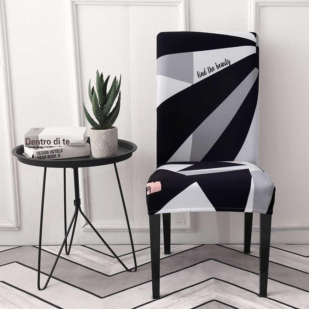Funda de asiento de silla lavable a máquina, fundas elásticas de Spandex para Hotel, comedor, hogar, 1 unidad, funda de silla elástica sólida