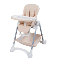 High Quality Portable Baby Feeding Dining Chair Multifunction Children High Chair Foldable For Kids