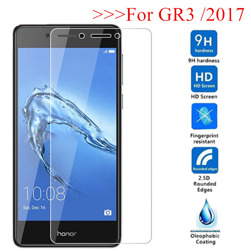 GR3 Cover Tempered Glass For Huawei GR3 TAG-L21 TAG L21 GR 3 Protective Screen Protector On GR3 2017 DIG-L21 PRA-L11 Glass Film