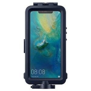 Image 2 - オリジナル Huawei 社シュノーケリングケース Huawei 社メイト 20 プロダイビングプロテクターケース防水公式オリジナル Mate20 プロ水中