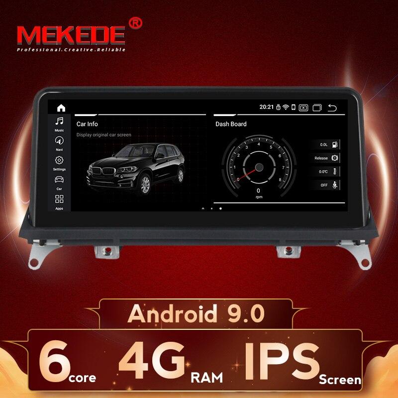 Grande remise! Lecteur radio gps de voiture android 9 pour BMW X5 E70 X6 E71 2007-2013 Original CCC ou CIC avec écran wifi BT IPS