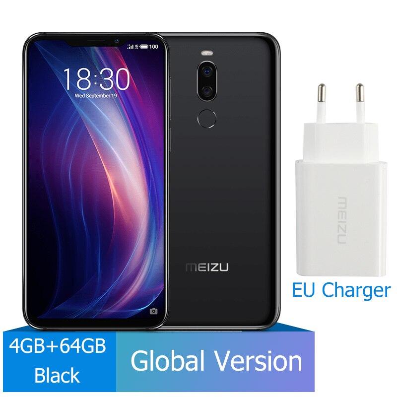 Meizu X8, 4 ГБ, 64 ГБ, глобальная версия, Смартфон Snapdragon 710, четыре ядра, мобильный телефон, фронтальная камера 20 МП, отпечаток пальца - Цвет: 4G 64G Black