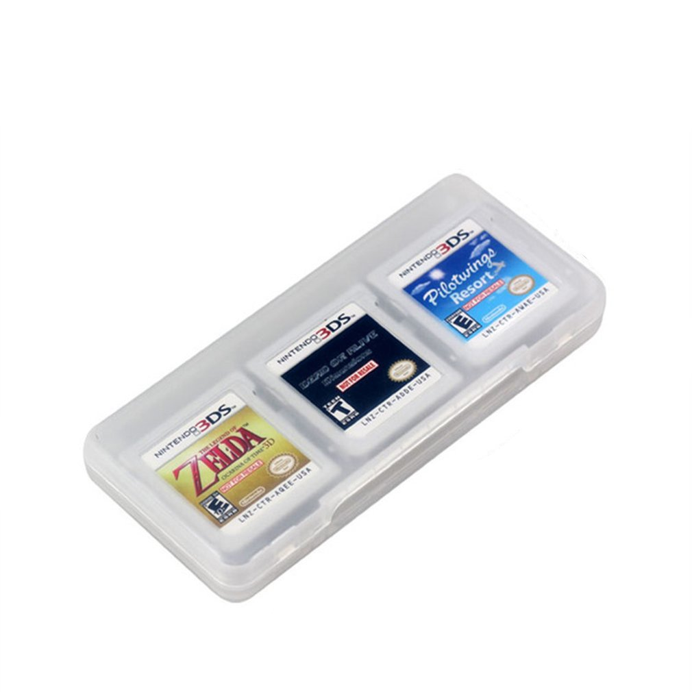 6 In 1 Hard Plastic Storage Box Case Holder For Nintend DS 2DS New 3DS XL LL 3DSLL 3DSXL Game Cards
