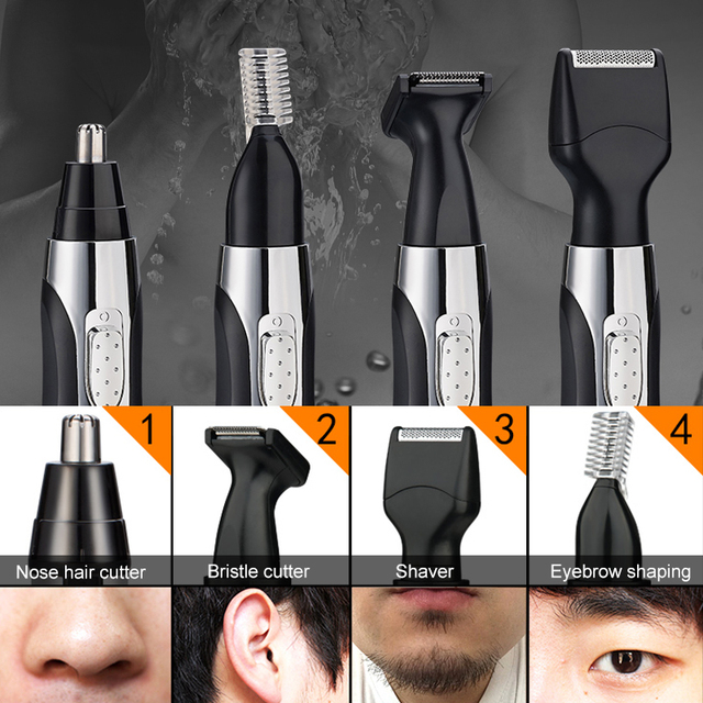 Electric Neck Eyebrow Nose Hair Trimmer Removal Shaving Men Razor Nose Hair Removal Nose And Ear Trimer For Men Neustrimmer 1