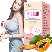Man and Woman Enhance Energy Bigger Breast Butt And Hips Enlarg 40 Tablet Kudzu Papaya Chewing Suppo
