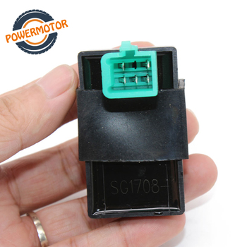 5Pin 12V Black 60*35*50mm AC Ignition CDI UNIT for 50CC-110CC Pit PRO Trail Quad Dirt Bike ATV Motorcycle Ignition for 50cc 110cc 125cc pit quad dirt bike atv motorcycle cdi wiring harness loom solenoid ignition coil rectifier