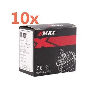 Image 1 - Servomotor EMAX ES3001 estándar 43g Servo motor para coches de Control remoto RC auto helicóptero barco aeroplano (ES08A ES08MA ES08MD)