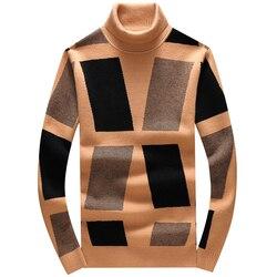 Мужской Повседневный пуловер с вышивкой, Классический пуловер с алмазным блоком в азиатском стиле, Размеры # N110, зима 2019
