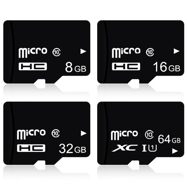 High Quality!!! 100pcs/lot 32GB 16GB 8GB TF Card TransFlash C10 Micro Card , High Speed Micro SDHC SDXC Card For cellphone