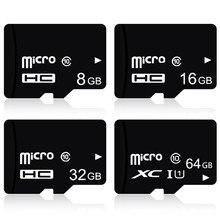 Yüksek kalite!!! 100 adet/grup 32GB 16GB 8GB TF kart TransFlash C10 mikro kart, yüksek hızlı mikro SDHC SDXC kart cep telefonu için