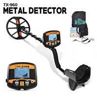 Professionelle Metall Detektor Unterirdischen Tiefe Scanner Suchen Finder Gold Detektor Schatz Hunter Erfassen Pinpointer TX-960