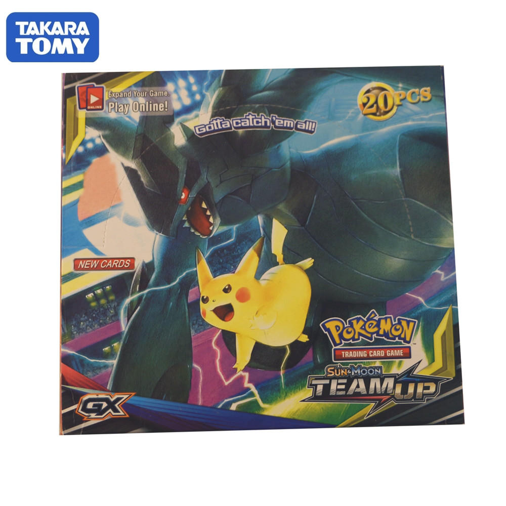 660pcs/box Pokemon Cards Sun & Moon TEAM UP Battle Collection Trading Card Game