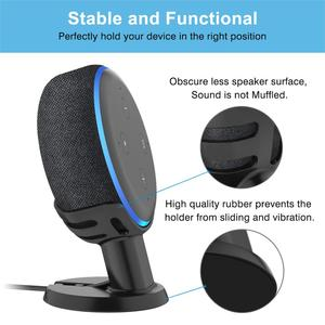 Image 3 - Holder Mount Stand Case For Amazon Alexa Echo Dot 3rd generation Mount Stand work with Amazon Echo Dot 3 Assistant Stand