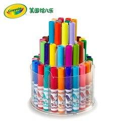 Amerika Crayola 50 Farbe-Waschen Kurze Stange Aquarell Stift Gemalt Sicher ungiftig 58-8750