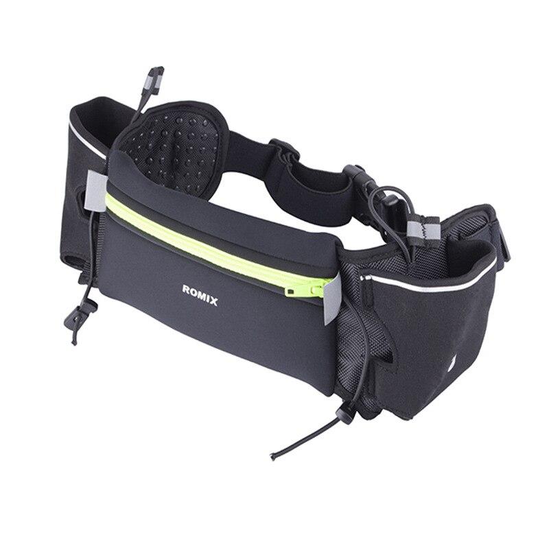 ROMIX Genuine Product Mobile Phone Waist Bag Women's Marathon Training Equipment Sports Waist Pack Kettle Outdoor Bag Running Me