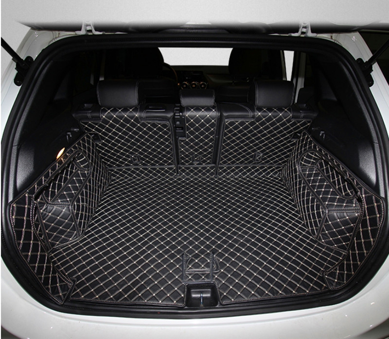 Good quality! Special car trunk mats for Mercedes Benz <font><b>B</b></font> <font><b>180</b></font> W247 2020 waterproof boot carpets cargo liner mats for B180 2020 image