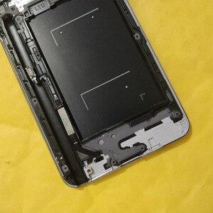 Image 5 - N9005 Lcd Voor Samsung Note 3 Lcd Touch Screen Digitizer Vervangende Onderdelen N9005 Display Voor Galaxy Note 3 Lcd Frame knop
