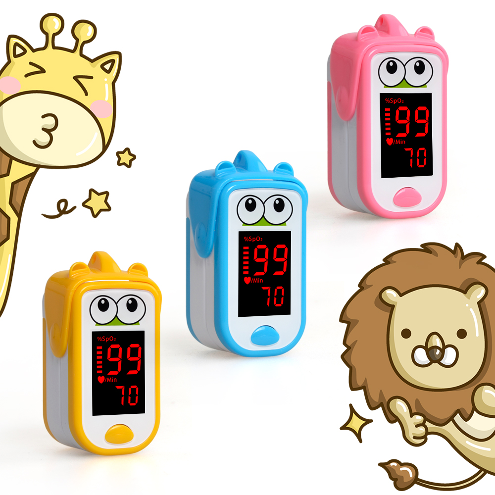 Baby  Finger Pulse Oximeter Neonatal Children Kids Fingertip Pulsioximetro Pediatric Oximetro De Dedo SpO2 PR Monitor 1-14 Years