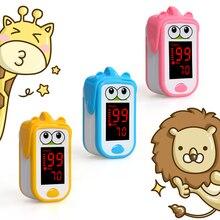 Baby  Finger Pulse Oximeter Neonatal Children kids fingertip Pulsioximetro Pediatric Oximetro De Dedo SpO2 PR Monitor 1-14 years