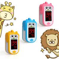 Oxímetro De pulso para Dedo para bebés niños recién nacidos Pulsioximetro De Dedo Oximetro pediátrico De Dedo SpO2 PR Monitor 1-14 años