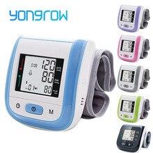 Yongrow الطبية معصم رقمية مراقبة ضغط الدم معدل ضربات القلب نبض متر قياس ضغط الدم PR