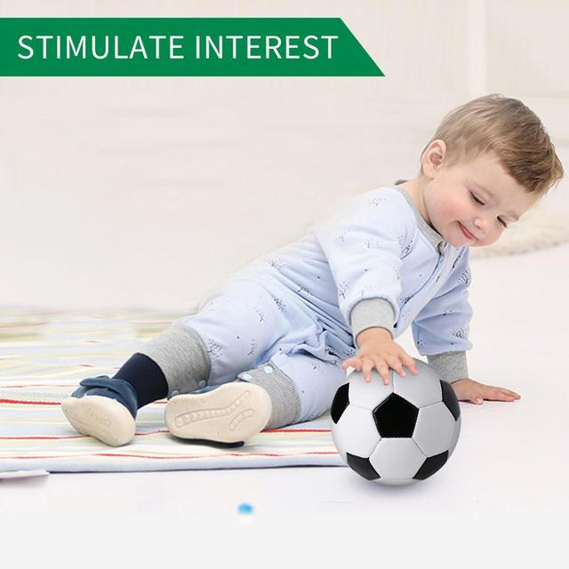 Soccer Ball Mini Size 6 Training Soccer Ball Soft Sports Toy Ball for Toddlers Indoor and