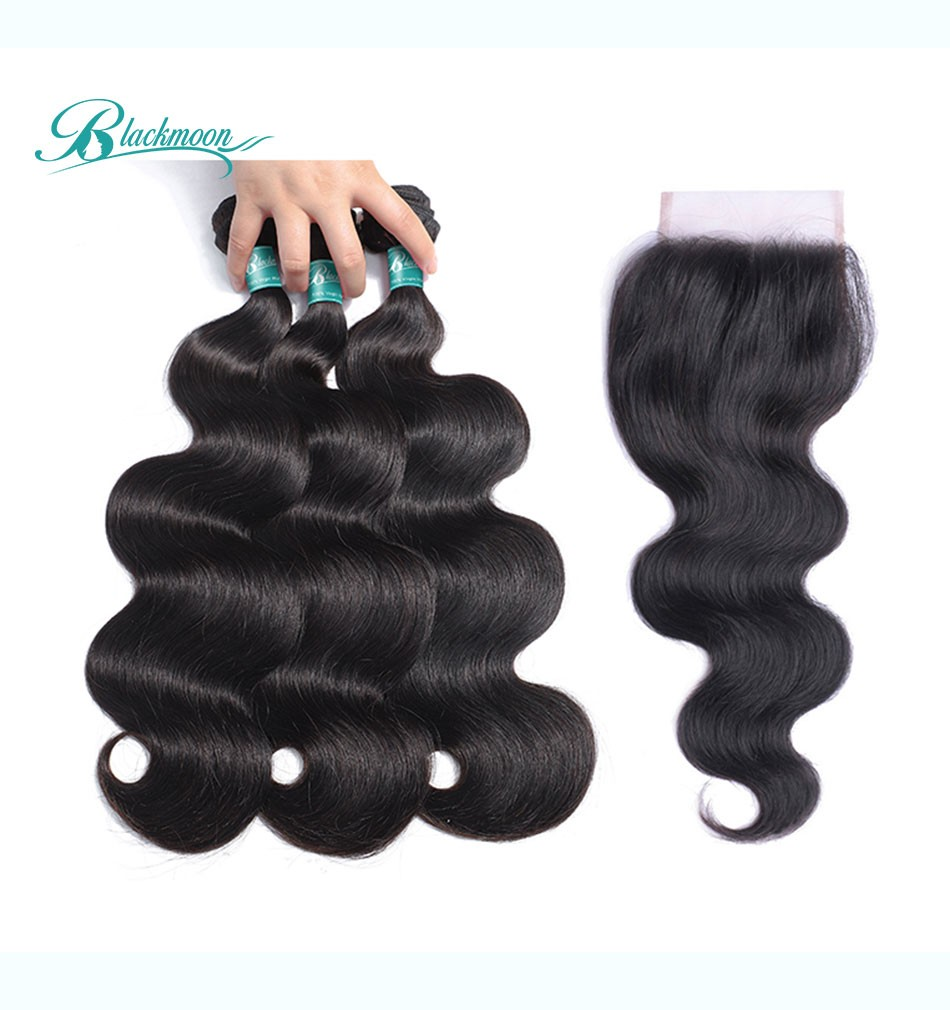 body wave bundles with closure-3+4_05
