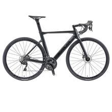 SAVA Carbon road bike disc brake 700c Carbon fiber frame road Bike with Disc brake 22 Speed Road racing bike disc brake bicycle tanie tanio Z włókna węglowego Mężczyzna Rower szosowy 21 prędkości 9 kg 150 kg 11 kg Nie Amortyzacja Podwójne hamulce tarczowe