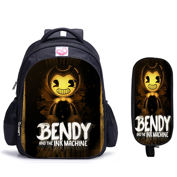 16 Inch Bendy Children School Bags Orthopedic Backpack Kids Boys Girls Mochila Infantil Catoon