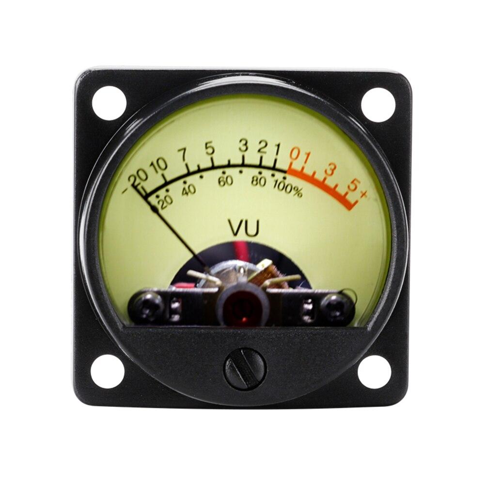 TR-35 VU Meter Head Power Amplifier DB Meter Sound Pressure Audio Level Meter Recording Audio Level Amp Meter