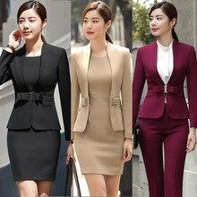 HOT Wine Black Apricot female elegant woman's office blazer