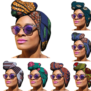 Lue's House 10 Color Nigerian Gele Headtie for Women African Print