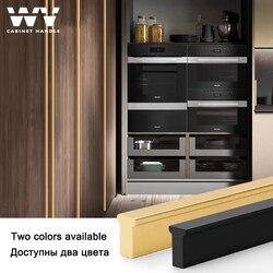 WV Long Cabinet Handles Brushed Gold T Bar Aluminum 1200mm Furniture Handles Kitchen Cupboard Pulls Drawer Knobs PenHardware 287