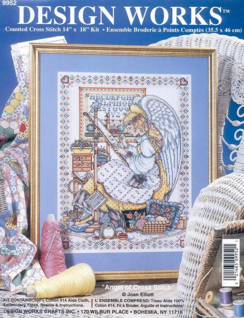 t-MM Gold Collection Counted Cross Stitch Kit Cross stitch RS cotton with cross stitch <font><b>Merejka</b></font> DW 9952 - image