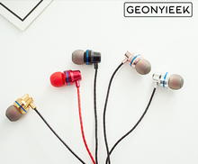 3.5mm Microphone Weaving Cloth Rope Sports Personalized Earpiece Super Bass Earphones For iPhone Samsung Xiaomi Huawei Wholesale