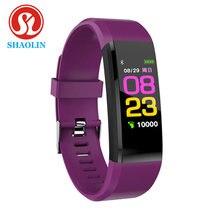 Shaolin versão global bluetooth mi relógio inteligente amoled pulseira esporte banda inteligente saúde pedômetros