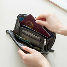 Местный запас паспорт дорожный кошелек держатель для паспорта многофункциональная Кредитная карта пакет ID документ мульти-карта упаковка для хранения клатч